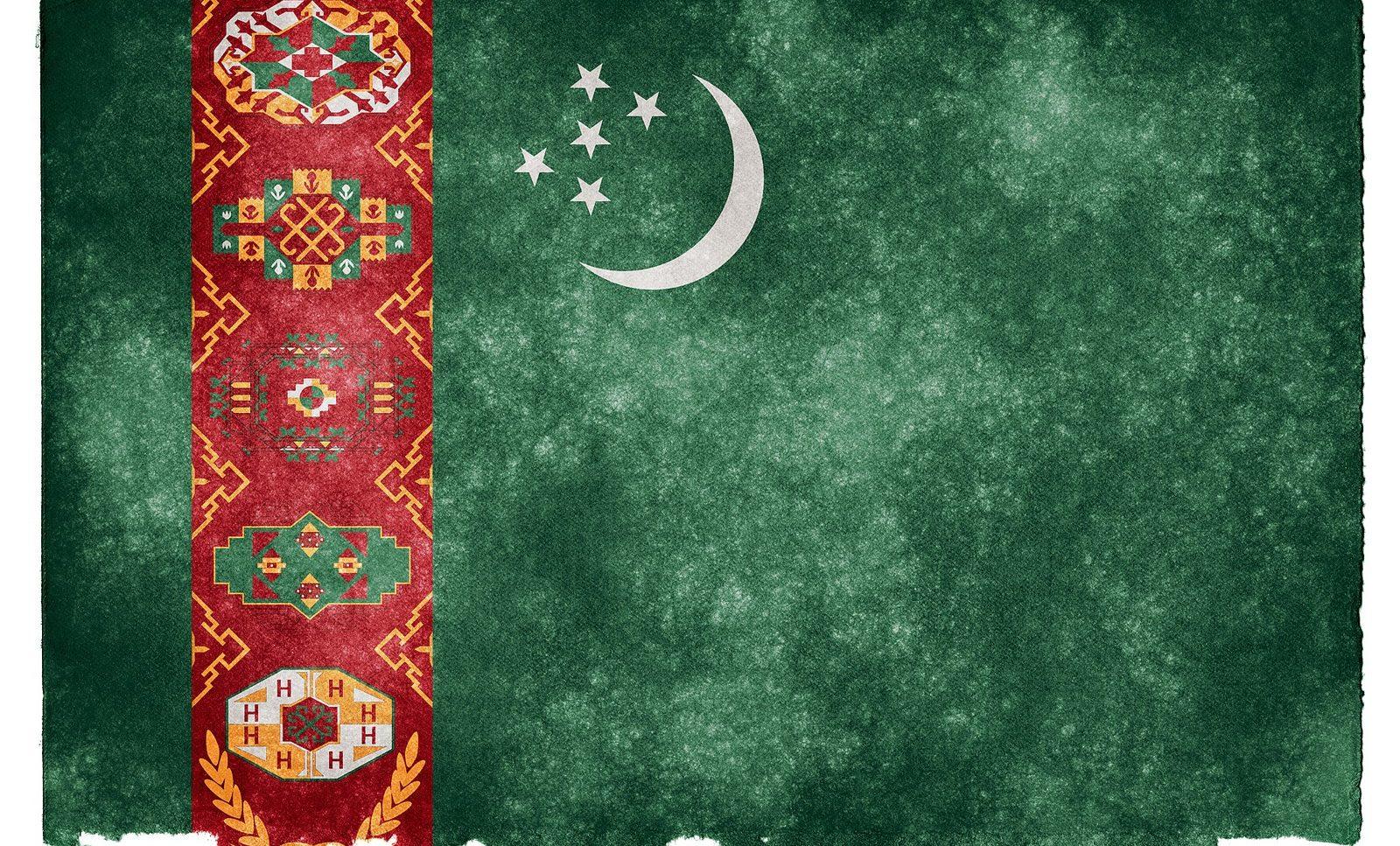 Turkmenistan Flag